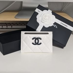CHANEL 21C Card Holder (White)